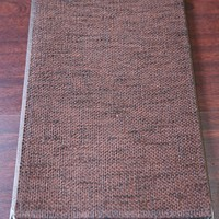 High quality heavy solid mixed linen sliding drapery fabric