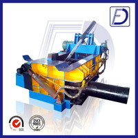 materials recycling scrap metal chip compactor machine