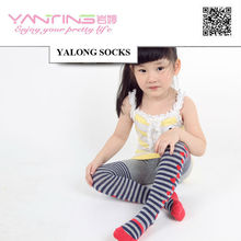 tights YL701 young girl and kids cotton colored tights pantyhose 0427