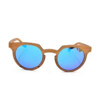 Multi-color Wood Frame Sun Glasses, Bamboo Sunglasses Manufacturer