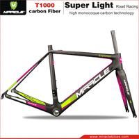 2016 New Arrival carbon road tt frames, best super light carbon fiber road bicycle frame