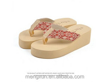 Summer new quality goods Sequins flip-flops Ms thong slippers