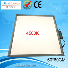 two installation design 40W 4500K 600X600mm LED Panel lights