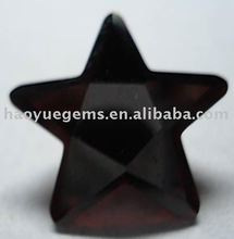 2015 Hot Sale Star Cut Black Cubic Zirconia Precious Gemstone/Synthetic Cubic Zirconia Wholesale