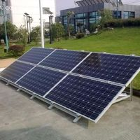 Guangzhou Cheap price and high efficiency best price per watt solar panels 250 WATT