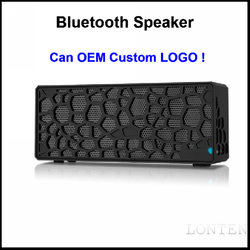 China Speaker Manufacturer OEM Honeycomb Wireless Portable Boombox Subwoofer 2014 Bluetooth Professional Speaker