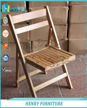 Wholesale Natural Wooden Folding Chair