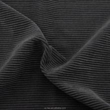 Changzhou 8w 100% cotton thick and thin striped corduroy