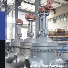 OS&Y Cast Steel Gate Valve with RF or BW Ends