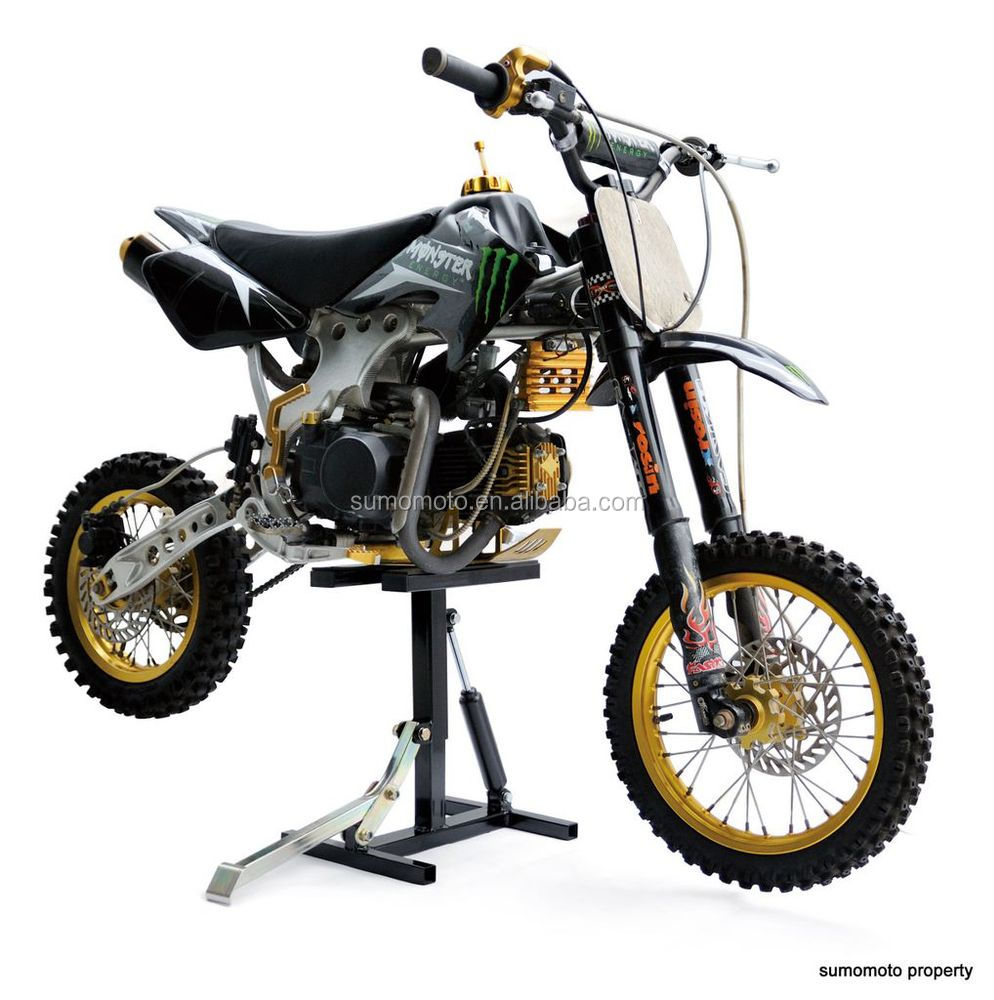 Hydraulic Motorcycle Stand : Hydraulic moto stand dirt bike h off road enduro