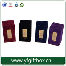 alibaba china trade assurance supplier wholesale mother's day gift ideas elegant velvet perfume box