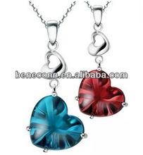 Hnaging diamond heart usb flash 1gb/2gb/4gb