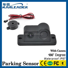 New arrival bluetooth reverse camera rearview mirror, 5'' GPS Radar Parking Sensors Parking Video System Bluetooth