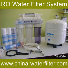 50G RO water purifier body with RO Membrane water purifier solenoid valve parts