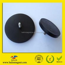 Rubber coated neodymium magnets