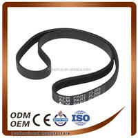 good quality and anti-abrasive ribbed three v belt, poly three v belt 3pk740 for car/auto