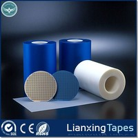 Blue soft plastic PVC film roll, Transparent PVC film