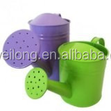 Multi-color Garden Decoration/Small Pot & Watering can/Zinc Flower Planter/Garden Metal Pot/_Balcony decoration