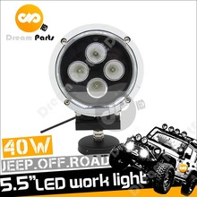 5.5 Inch 40w Round Led work Light for off road Jeep truck