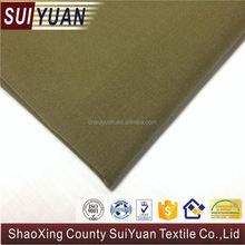 keqiao cotton satin finish fabric