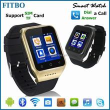 Intelligent FM GPS 5.0MP camera 3G waterproof cdma watch mobile phone