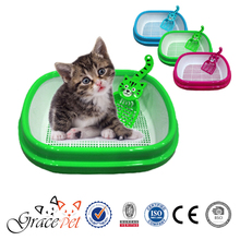 Pet Cleaning Product Plastic Cat Litter Box Pet Toilet Manufacturer