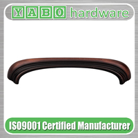 Wen zhou excellent quality modern u shape unique zinc alloy furniture kitchen cabinet pull handles