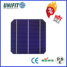 High Quality 6 Inch Triple Monocrystalline Solar Cell 156x156 With Solar Cells 6*6