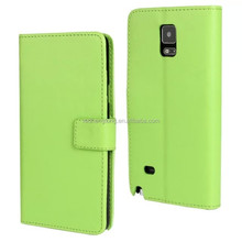 Hot sell bulk cases leather cases for samsung galaxy note 4