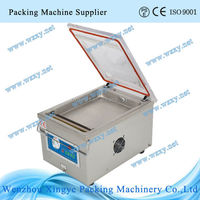 Table top green soya beans vacuum packing machine
