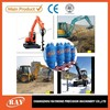 mini excavator small excavator attachment earth auger with mini digger,