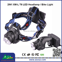 RJ-2181A XML T6 LED Headlamp 3modes Zoom led bike light cycling head lamp