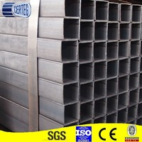 Mild Steel Tube Hollow section Customized Size and Length