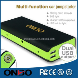 High quality high technology new style battery jump starter new generation of driving essential tools