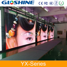 white indoor rental led display for wedding/ad/shopping mail