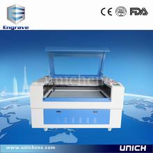 UNICH laser wood&arylic&plywood engraving machine/high speed co2 laser machine/laser cutting machine for sale