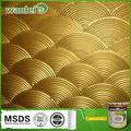 Efecto de textura a base de agua pintura en aerosol de metal martillado