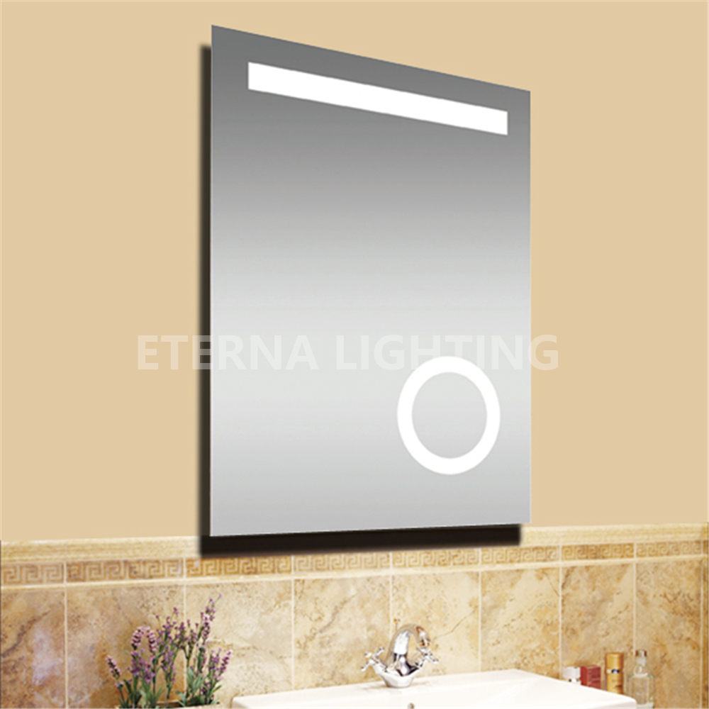 Ip44 Ce 2015 Neue Design Badezimmer Gef Hrt Spiegel Mit 3x Lupe Badspiegel Produkt Id 697535820