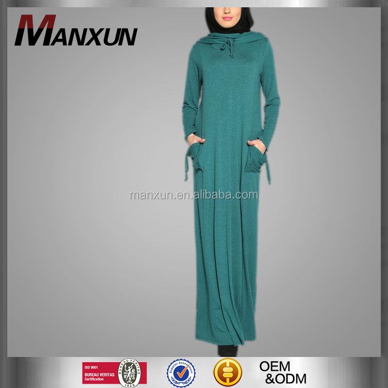 2016 Hot Shelling High Quality Abaya Islamic Women Fahion