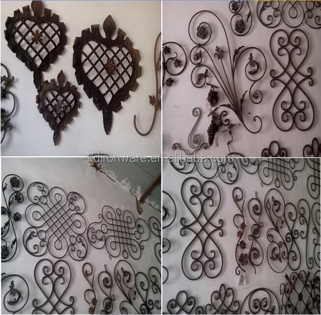 Nuevo diseño de paneles de la cerca de hierro forjado ornamental ...