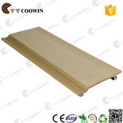 COOWIN WPC wall panel plastic composite waterproof wall siding