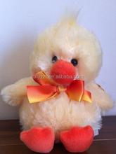 cute stuffed chicken plush toy, plush yellow chicken toys/custom plush toy chicken