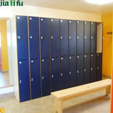 Public fire resistance 2 tier employee lockers to buy
