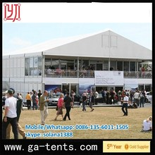 6061/T6 Aluminium Frame PVC Field Tent
