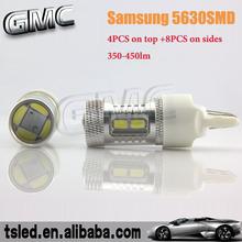 La lámpara led auto, t20 led lámpara del coche, bombilla led de luz para el coche
