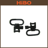Quick release black plated alloy metal gun sling swivels gun accessories