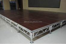 aluminum assembly mobile shool portabl modular stage