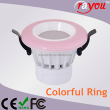 160 degree downlighter led 12w, 5730smd led 7w downlight, color led 12w downlight for commercial