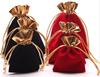 Customized Velvet pouch / velvet jewelry pouch / velvet bag