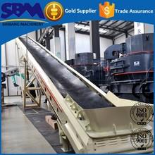 High efficency good quality long distance gravel belt conveyor machine supplier